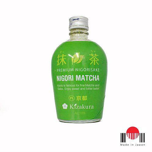 DSZ301 - Sake Kizakura Matcha Nigori 300ml - Kizakura