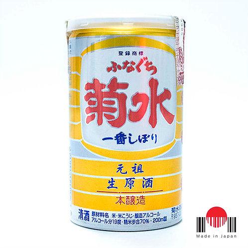 DSU020 - Sake Kikusui Funaguchi Ichiban Shibori 200ml - Kikusui