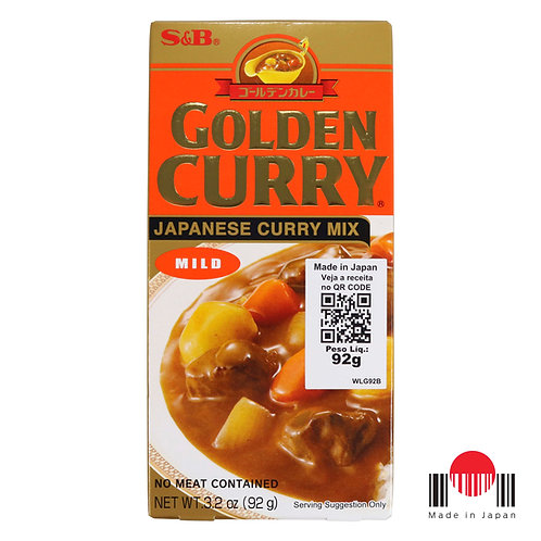 TCC102N - Golden Curry Amakuchi 92g - S&B