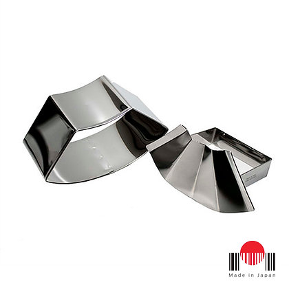 1CU057 - Forma para Oniguiri Ougi Inox S Jirushi - MT-Torimatsu Co.,Ltd