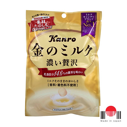 BBR970 - Kin no Milk Candy 76g - Kanro