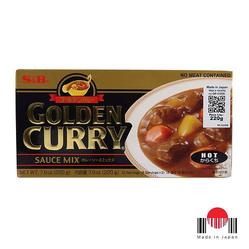 TCC245N - Golden Curry Karakuchi 220g - S&B
