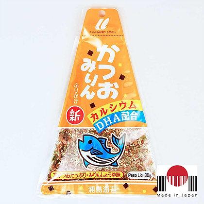 TAF505 - Furikake Triângulo Katsuomirin 30g - Urashima