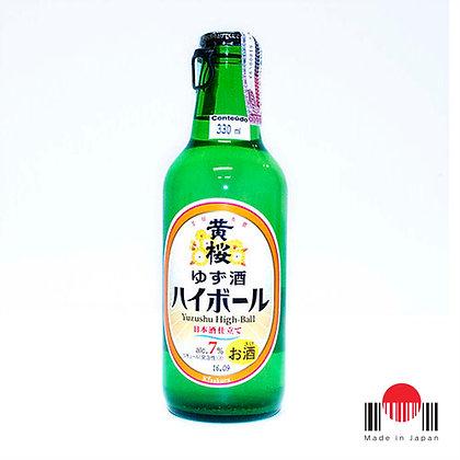 DSZ330 - Sake Sparkling Yuzu Shu High-Ball 330ml - Kizakura