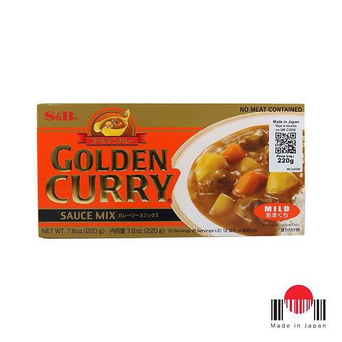 TCC242N - Golden Curry Amakuchi 220g - S&B