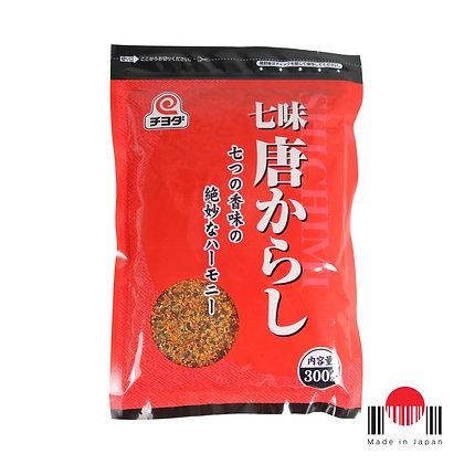 TPP305 - Pimenta Shichimi Togarashi 300g - Chiyoda