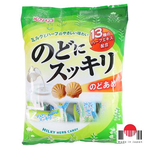 BBK501B - Bala Refrescante para Garganta Nodo ni Sukkiri 120g - Kasugai