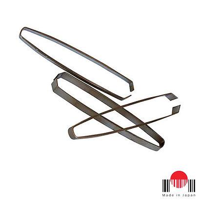 """1CA008 - Pinça tira espinho de peixe """"Reta"""" (10,5cm)"""