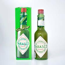 TPT002 - Molho de Pimenta Green Pepper Sauce 60ml - Tabasco