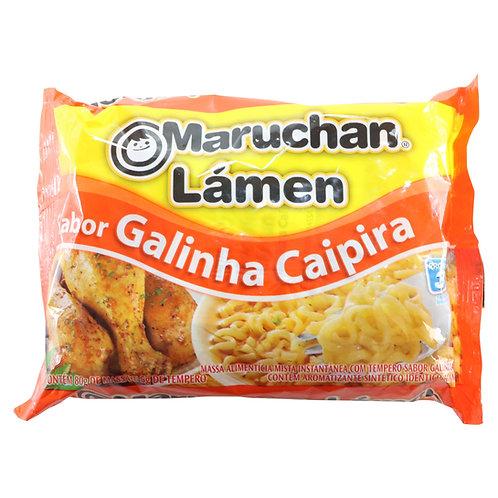 MTL335 - Macarrão Instantâneo Lamen Sabor Galinha Caipira 85g - Maruchan