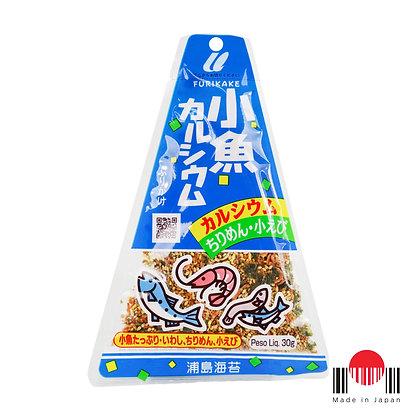 TAF504 - Furikake Triângulo Kozakana Calcium 30g - Urashima