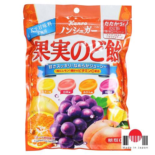 BBR607 - Bala de Frutas Sortidas 86g - Kanro