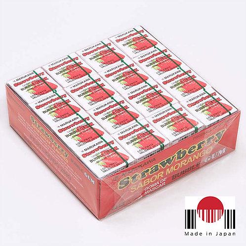 BDG105 - Caixa de Chicletes Sabor Morango 48 unidades (259,2g) - Marukawa