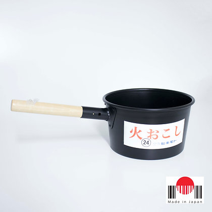 1CU016 - Recipiente para Acender Carvão 24cm - MT-Torimatsu