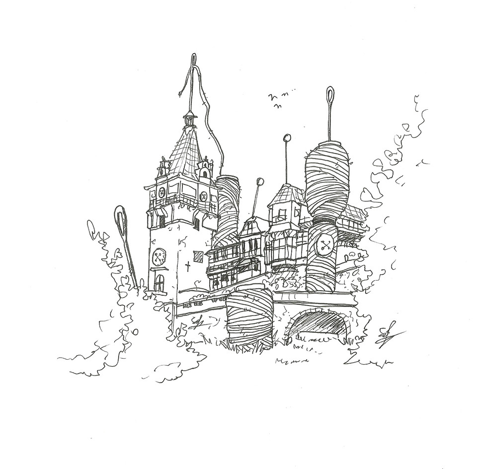 Pelis Sewing-kit Castle