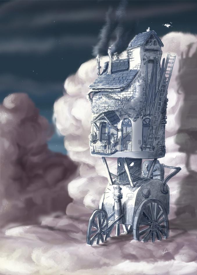 Wolkenhuis driewieler