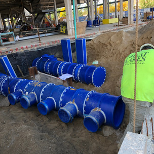 8 Blue Duct Install - Cancer Ctr..JPG