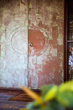 Front door to Guesthouse