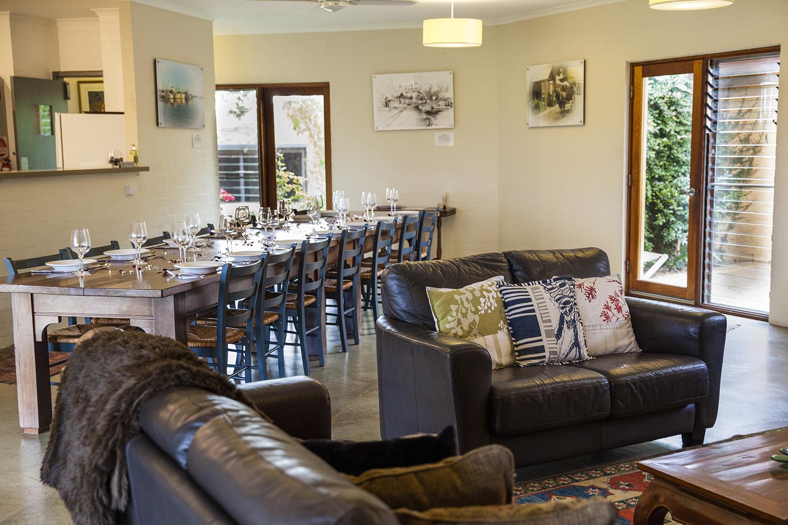 Lounge beside Dining area