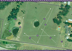 Pitch and chip course map