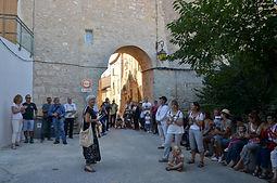 visite guidée et théâtralisée de Castelnau de Guers