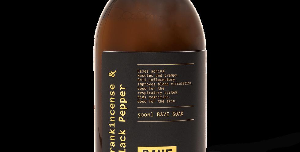 Frankincense & Black Pepper: Bath Kit