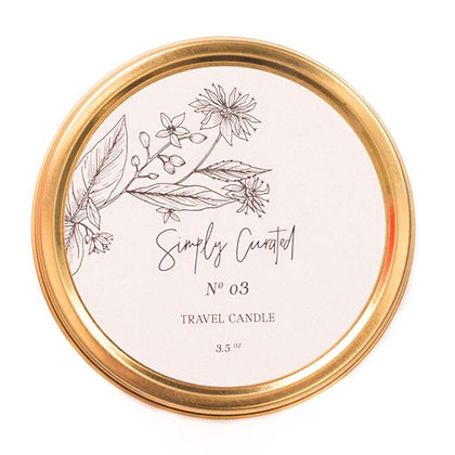 Simply Curated Soy Candle - Botanical Collection No.3