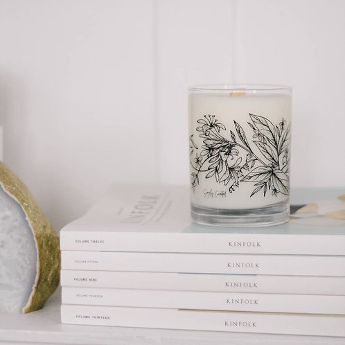 Simply Curated Soy Candle - Botanical Collection No. 1