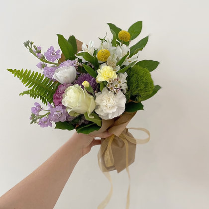 Hand Tied Bouquet - Wednesday Delivery