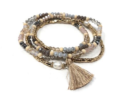 January Natural Bracelets