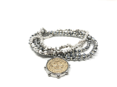 Gwen Silver Bracelets