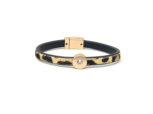 Lynn Leopard Bracelet