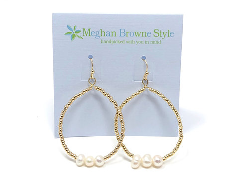 Trista Gold Earring