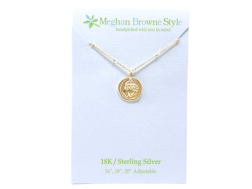 Athens Gold Necklace