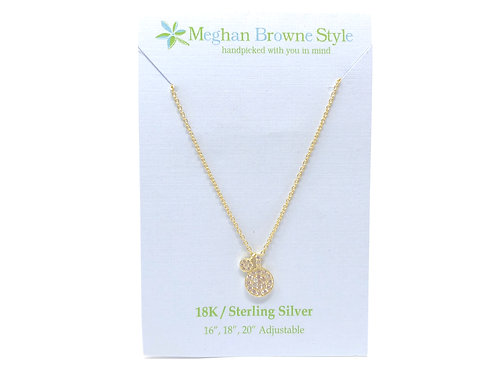 Adonia Gold Necklace