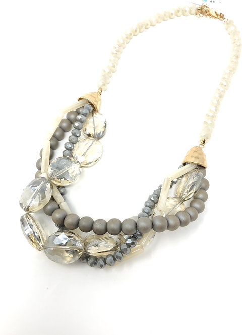 Egypt Moon Crystal Necklace
