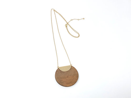 Ceri Natural Wood Necklace