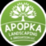 Apopka Landscaping & Irrigation Logo Gre