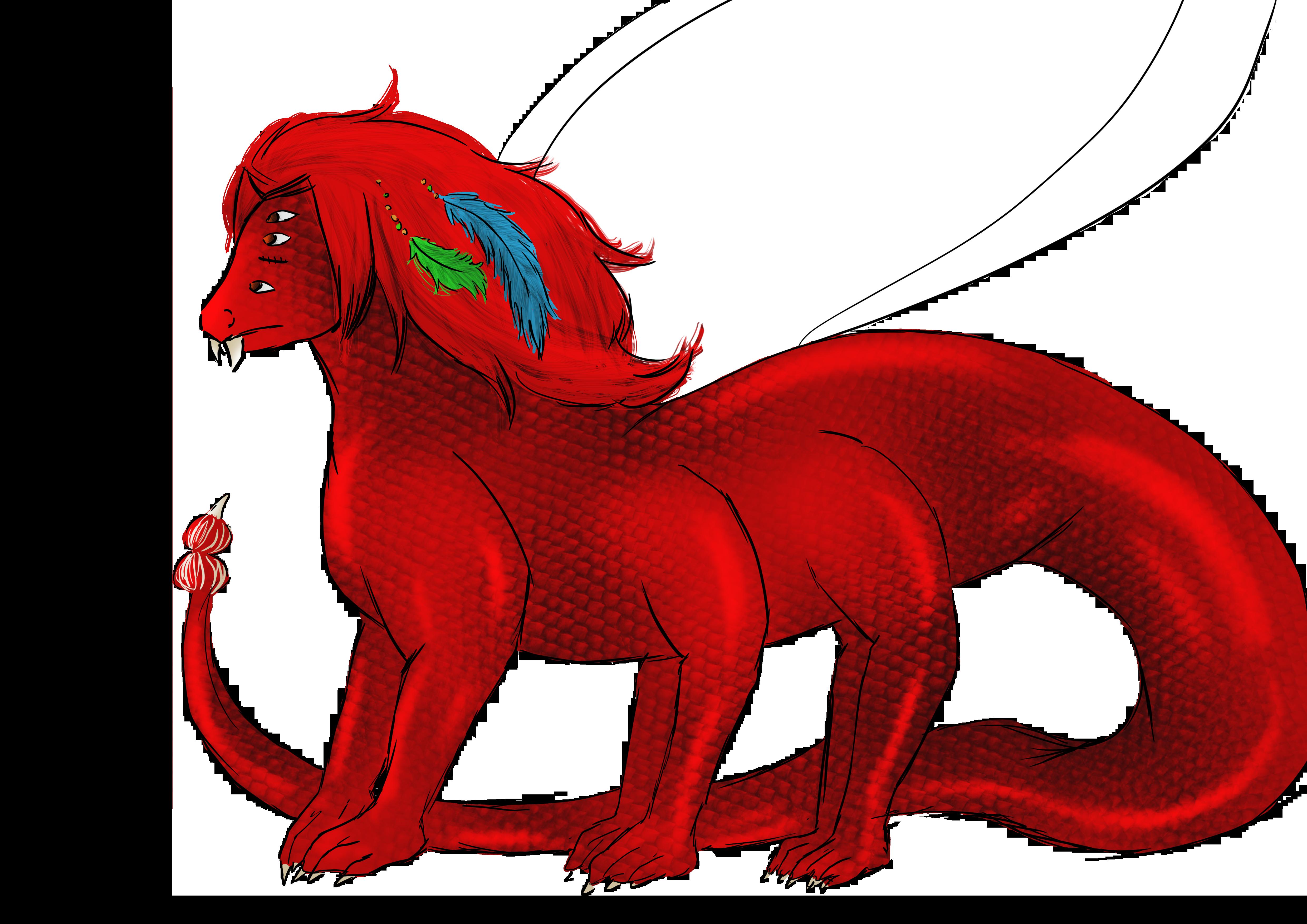 dragon amare