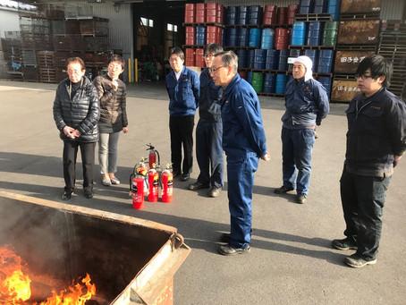 消火訓練実施