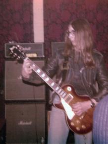 John on the guitar