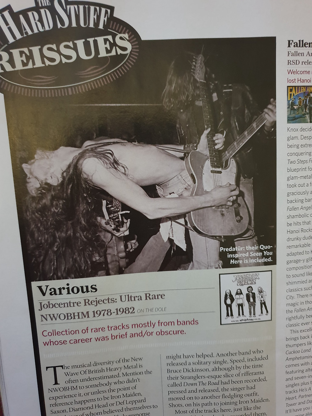 Predatür review in Classic Rock