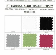 RT1501054 SLUB TISSUE JERSEY