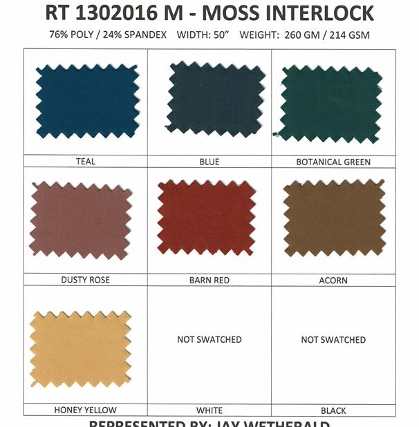 RT1302016 M - MOSS INTERLOCK