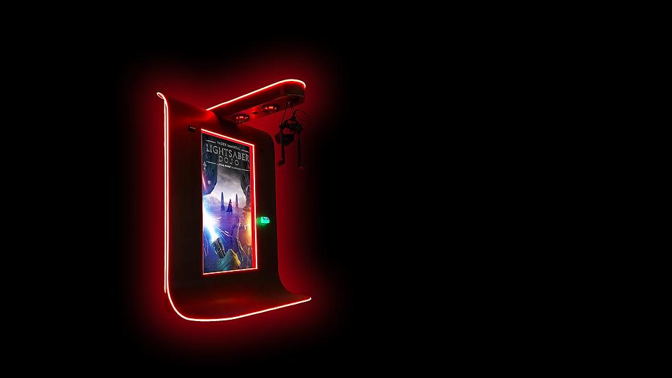Lightsaber Dojo Star Wars Arcade Cabinet