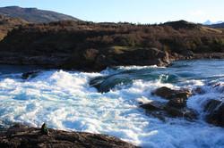 Confluencia Río Baker y Río Nef.