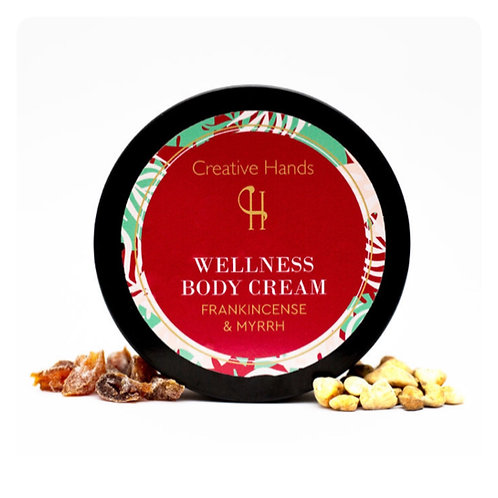 Frankincense & Myrrh Body Cream