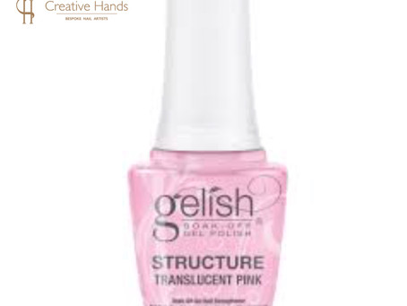 New! Gelish Structure Gel Translucent Pink
