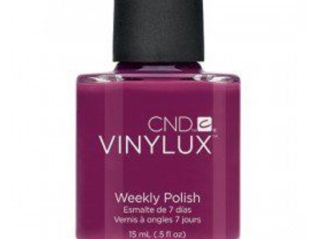 Tinted love-CND VINYLUX