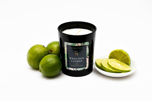 Lime Wellness Candle